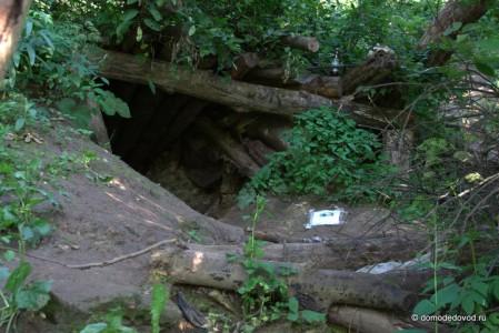 Вход в Никитские пещеры