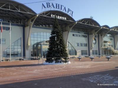 Каток на стадионе Авангард