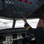 Пилот в аэропорту Домодедово
