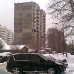 Вид с улицы Лесная