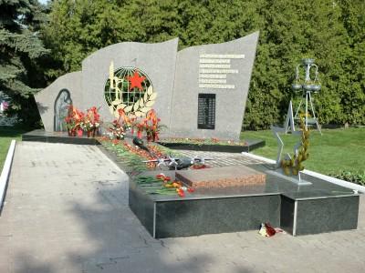 Памятник воинам, погибшим в локальных войнах и конфликтах