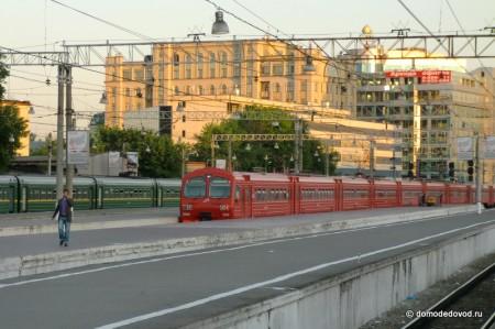 Платформы Павелецкого вокзала