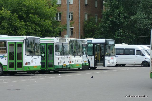 расписание автобусов автостанция домодедовская