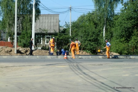 Установка новой остановки на улице Кирова