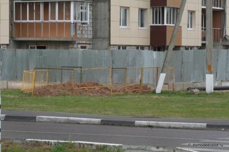 «Гранд Авион» Кеми Финанс Домодедово. Земельные работы.