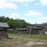 Крестьянское подворье 19-го века Домодедово