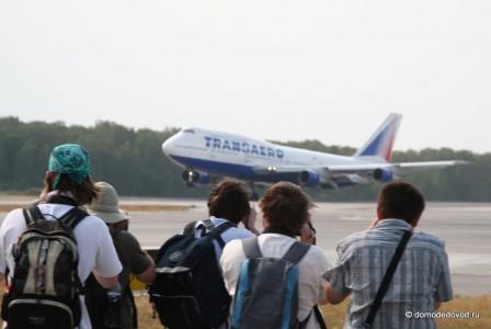 Споттинг в аэропорту Домодедово