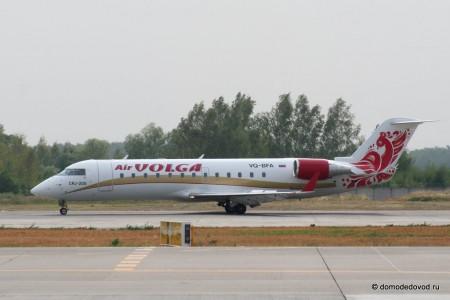 Самолет компании Volga