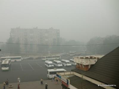 Станция Домодедово. Утро 8 августа.