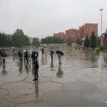 Площадь Победы днем