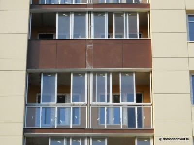 """""""Гранд Авион"""" Кеми Финанс. Остекление балконов."""
