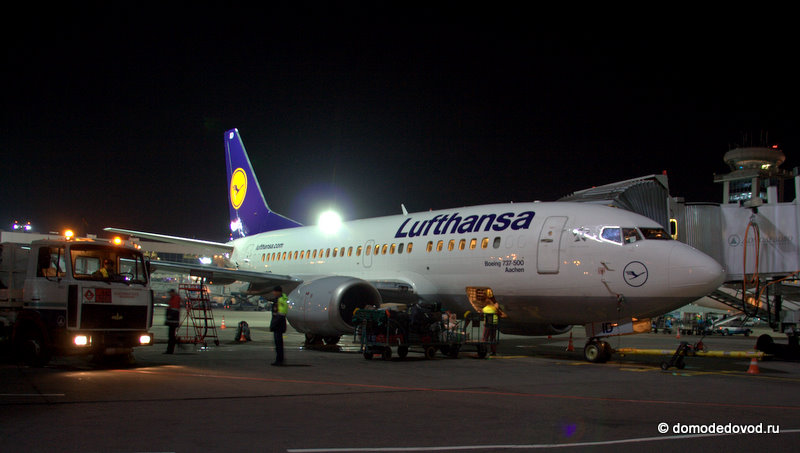 Боинг 737-500 авиакомпании Lufthansa