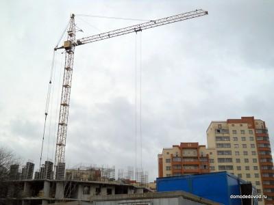 ЖК «Кировский» 2-я очередь. Ноябрь 2010.