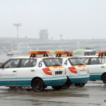 Машины аэропорта Домодедово. Машины сопровождения