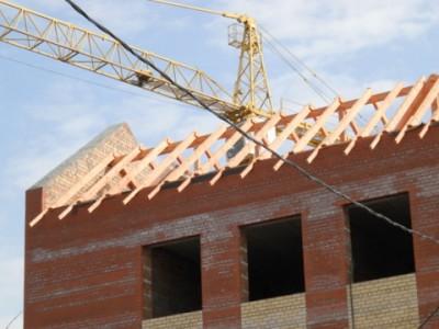 Строительство новой школы в Домодедово - кровля