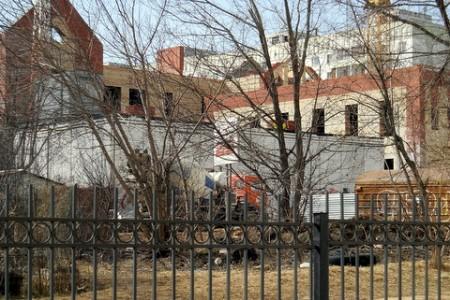 Начальная школа - стройка на Гагарина