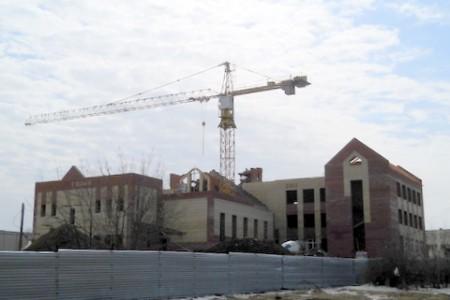 Строительство школы на ул. Гагарина
