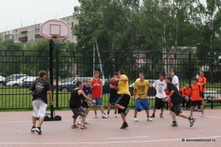 День молодежи в Домодедово. Стритбол