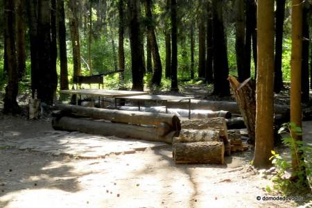Места для шашлыков в парке