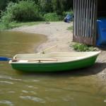 Лодка в парке Елочки
