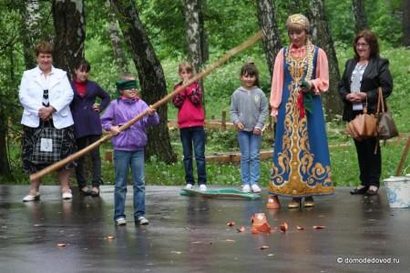 Сабантуй в Домодедово. Бой горшков