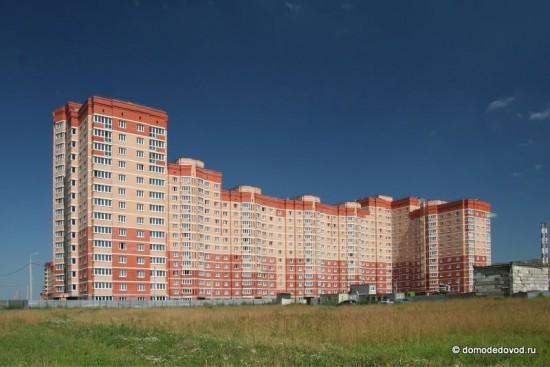 Новостройка в Домодедово по адресу ул. Лунная, 25