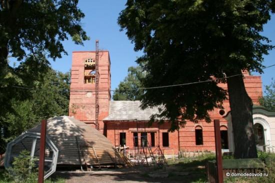 Храм великомученика Никиты. Строительство