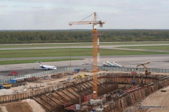 Строительство новых терминалов идет полным ходом