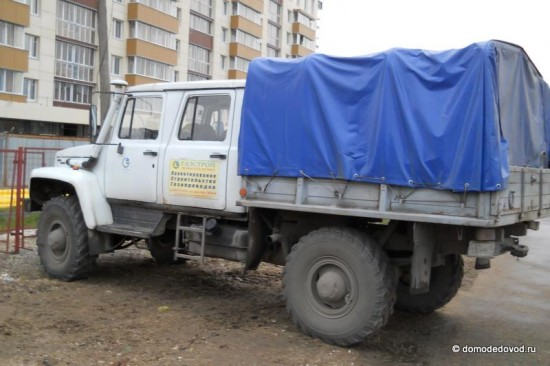 Автомобиль Газстрой Домодедово