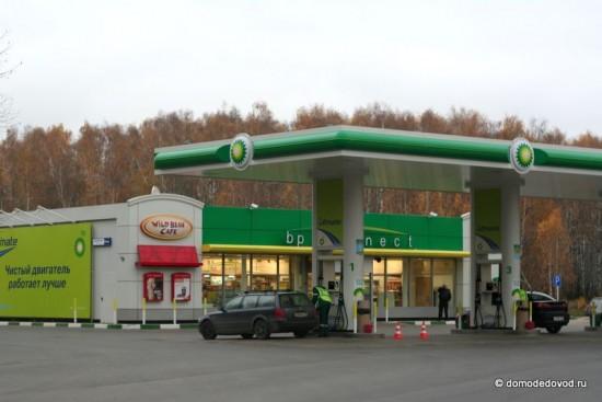Автозаправочная станция BP