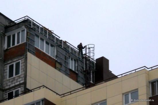Танцы на крыше недостройки