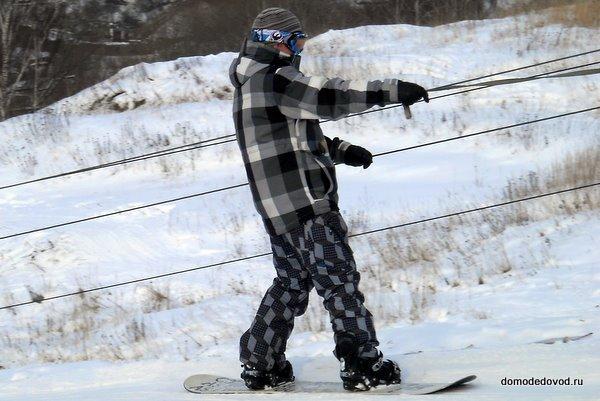 Сноубордисты в Домодедово