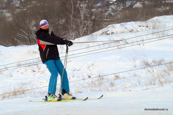Лыжники в Домодедово