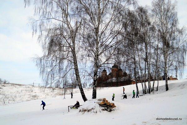 Склон на берегу Рожайки в Домодедово