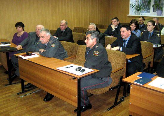 заседание Общественного совета при УМВД России по городскому округу Домодедово