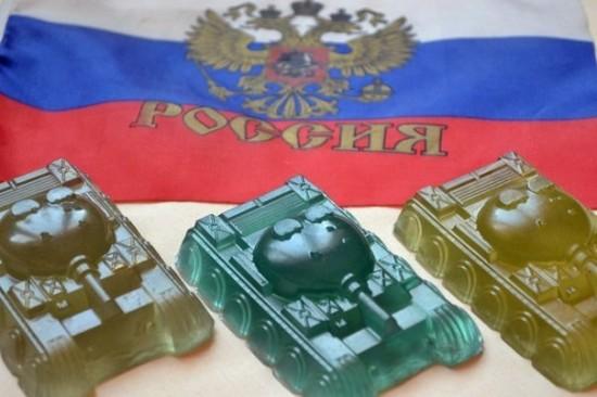 """Мыло """"Танковая дивизия"""". Бутик дизайнерского мыла ручной работы Iren Vina."""