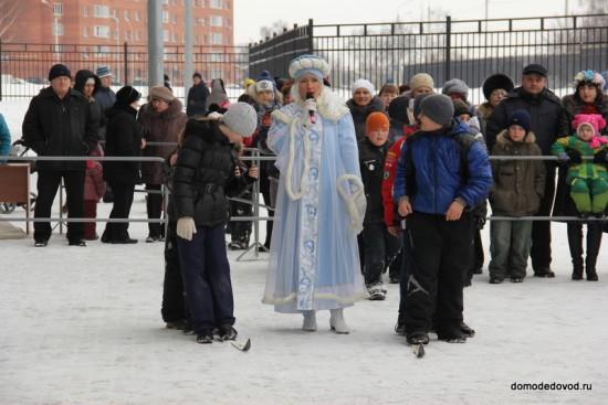 "Масленица на стадионе ""Авангард"" в Домодедово"