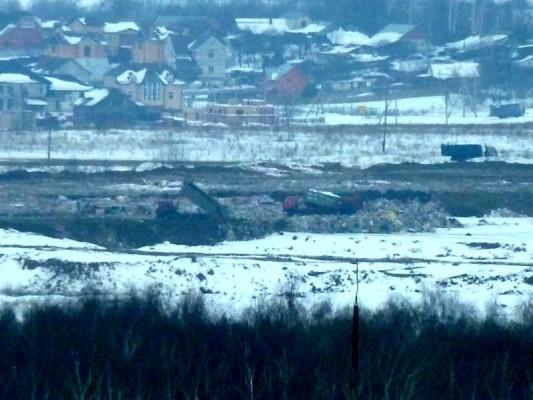 Свалка в Домодедово. 1 марта 2012 года