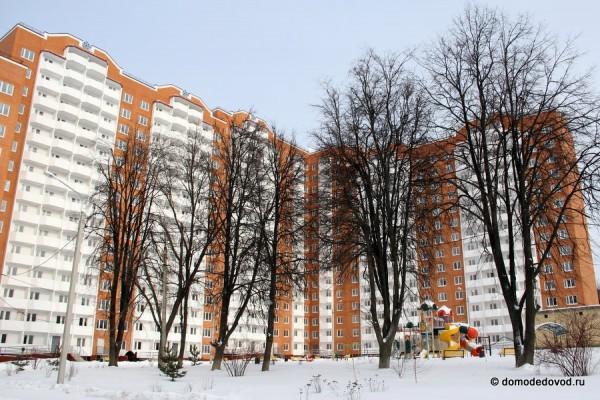 Новый дом по улице Ломоносова