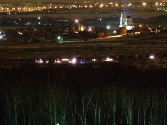 Свалка в Домодедово 28.03.2012 Фото: flashwolf
