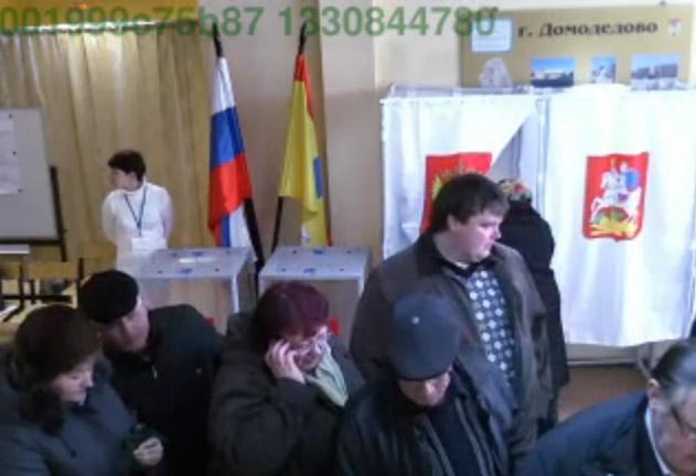 Выборы в Домодедово 2012