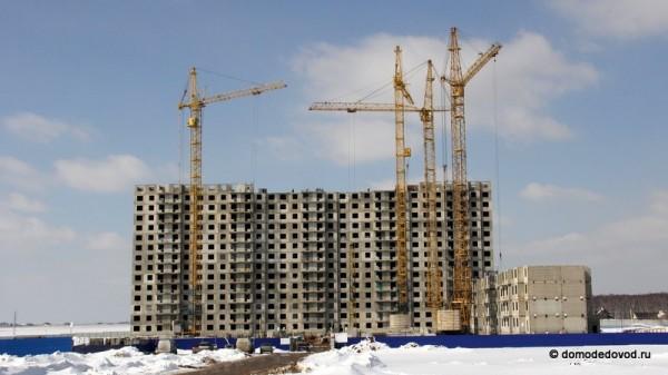 Строительство микрорайона Новое Домодедово