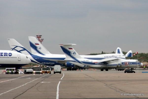 Ил-76, Boeing 747-8F и Ан-124-100