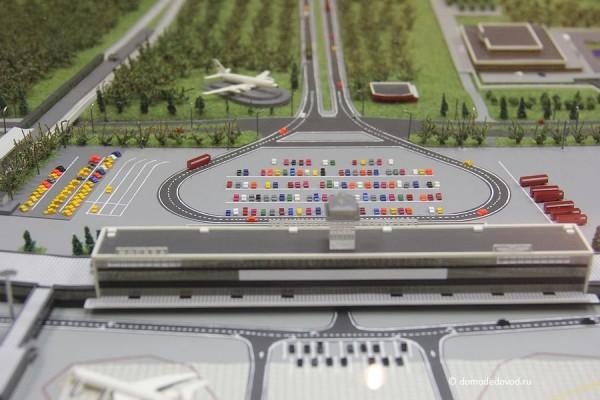 макет аэропорта Домодедово
