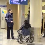 Лица с ограниченными возможностями в аэропорту Домодедово