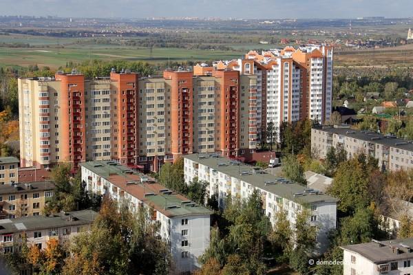Микрорайон Северный. Жилые дома по улицам Энергетиков и Ломоносова