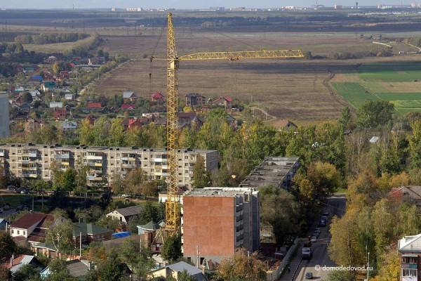 Строительство жилого дома по улице Гагарина