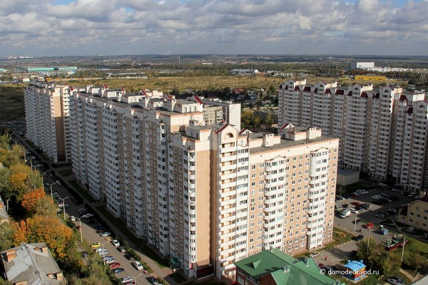 Жилые дома в микрорайоне Северный