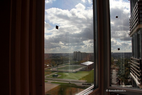 Вид на стадион Авангард