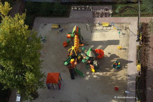 Детская площадка. Вид сверху
